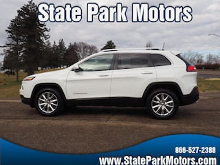 Used cars, trucks, and SUVs 2016 Jeep Cherokee 4X4 Limited SUV 130817 for sale near you in Wintersville, OH