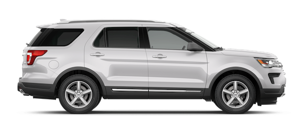 2019 Ford Explorer Oxford White