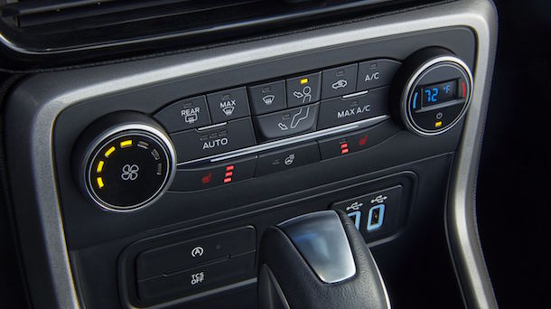 2019 Ford Ecosport Climate Control