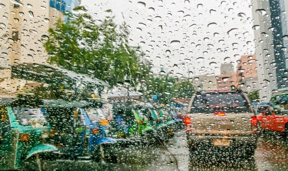 Rain safety driving tips