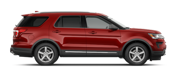 2019 Ford Explorer Ruby Red