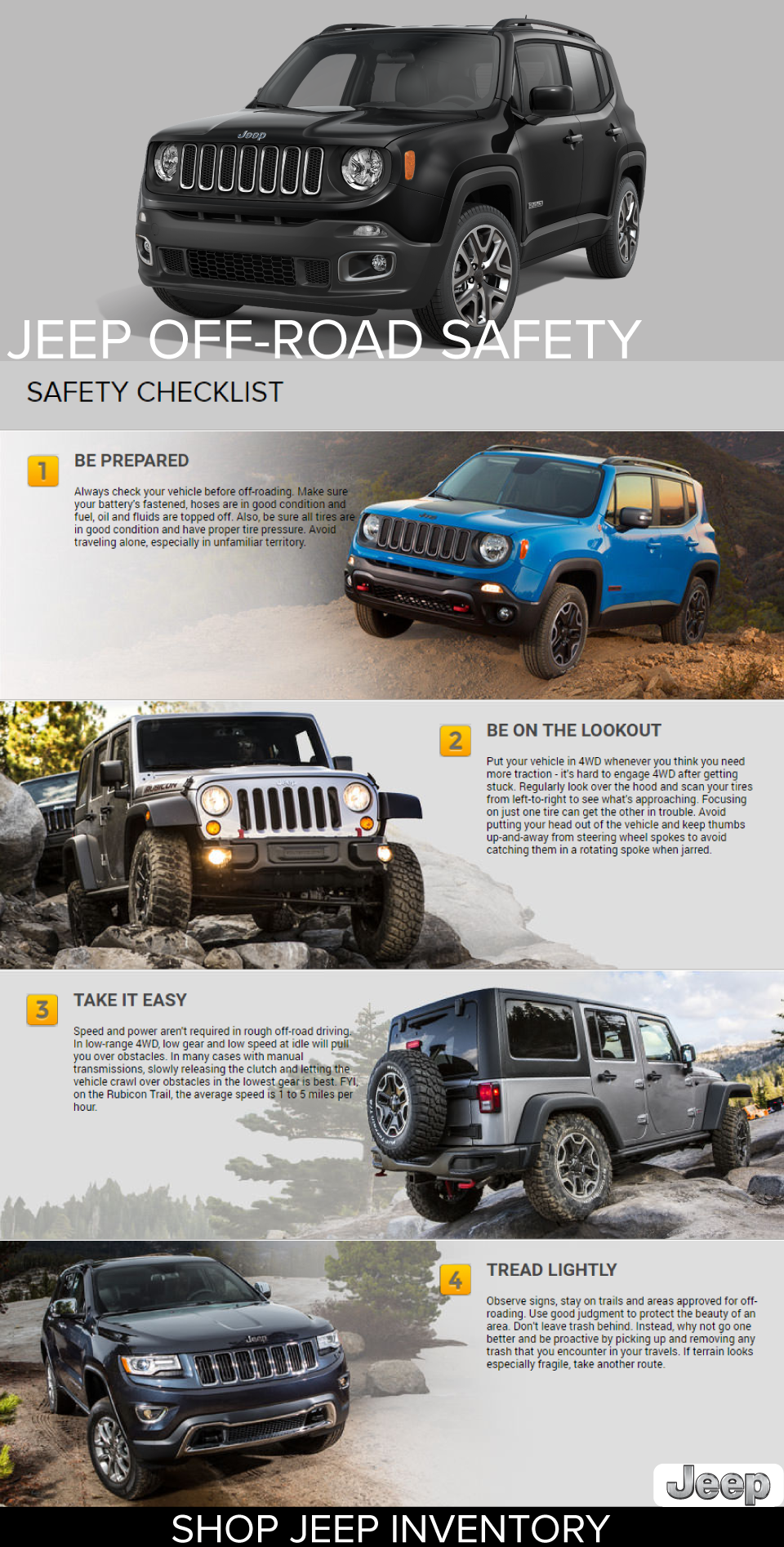 Jeep Trail Safety