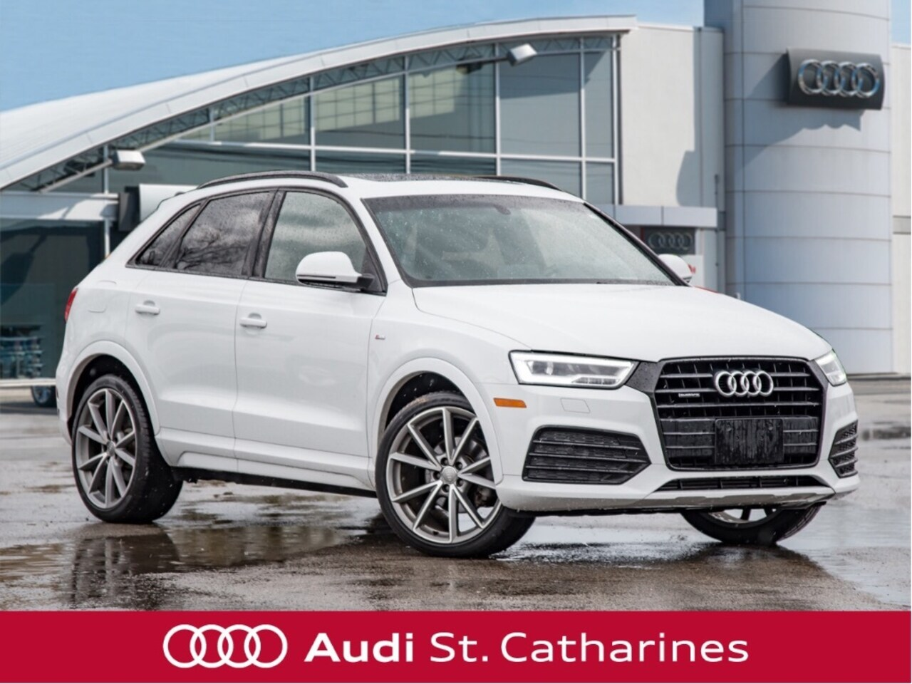 2017 Audi Q3 S-LINE COMPETITION PACKAGE! SUV