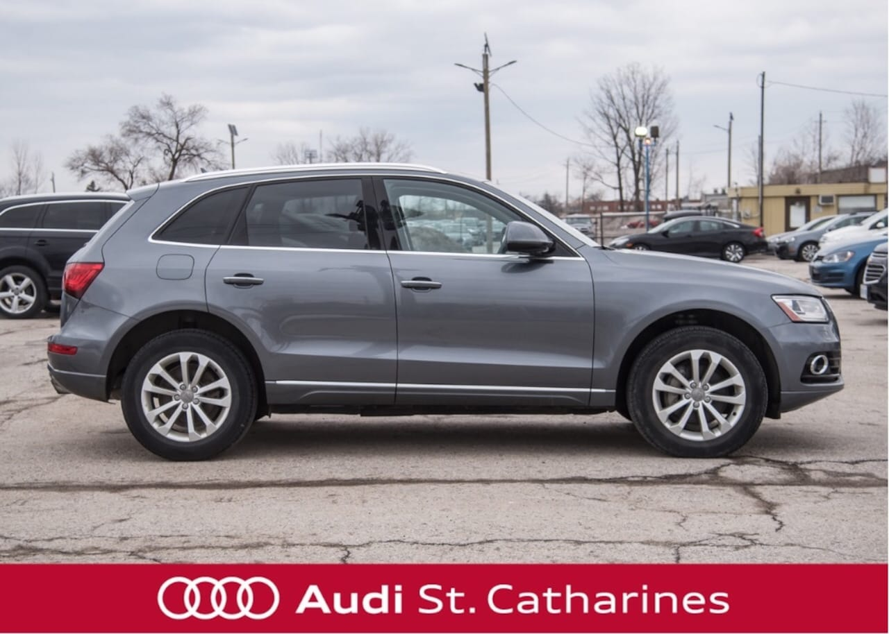 Used 2017 Audi Q5 For Sale at Audi St  Catharines | VIN
