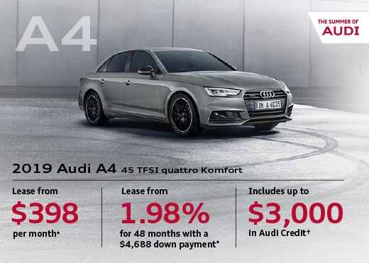 2019 Audi A4 Special Offer