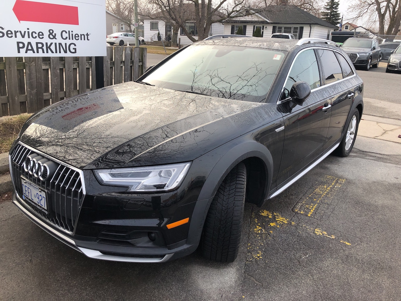 New 2018 Audi A4 Allroad For Sale At Audi St Catharines Vin
