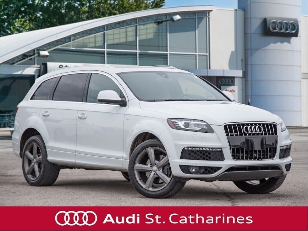 2015 Audi Q7 PANORAMIC ROOF | S LINE PACKAGE SUV