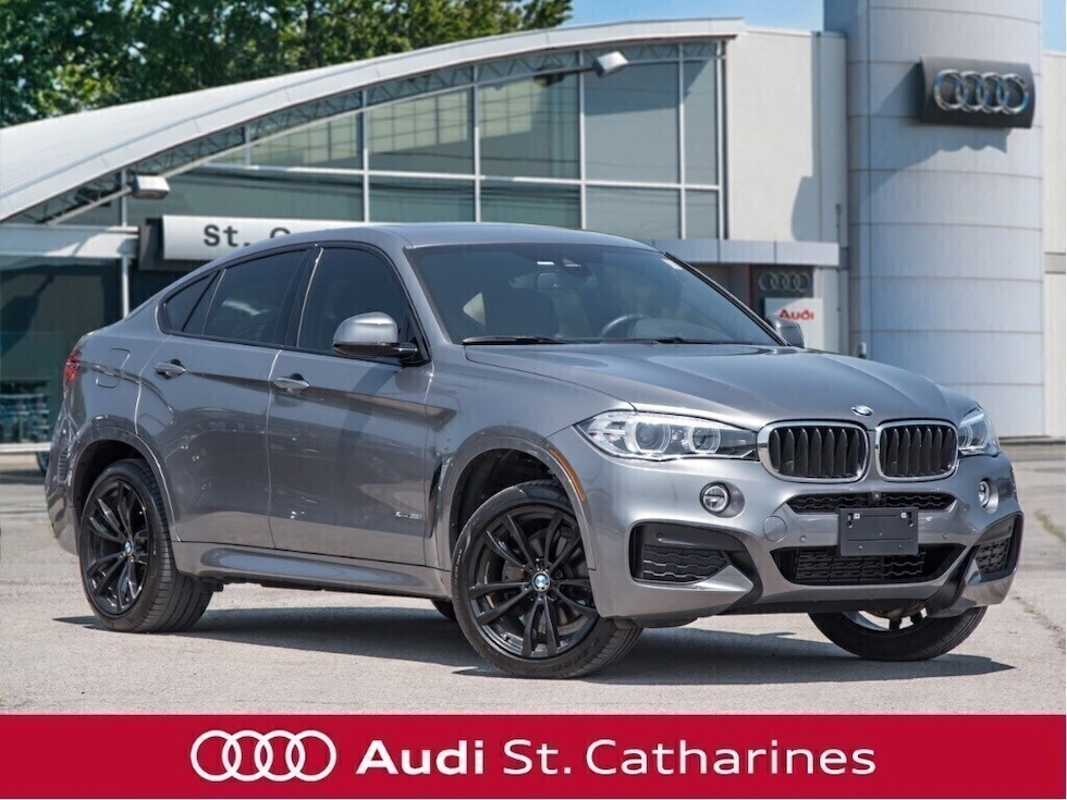 2017 BMW X6 1 Owner! SNOW TIRES ON RIMS! SUV