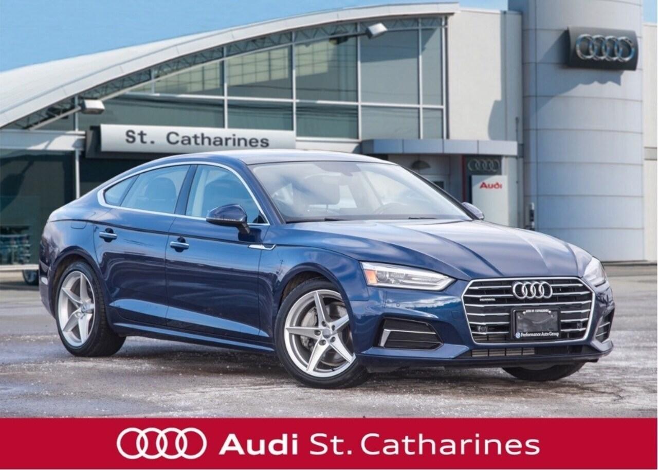 2018 Audi A5 DEMO SALE! -  Hatchback