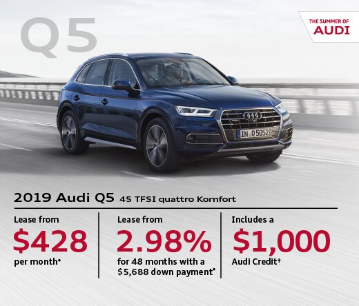 2019 Audi Q5 Special Offer