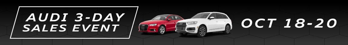 Audi 3 Day Sales Event