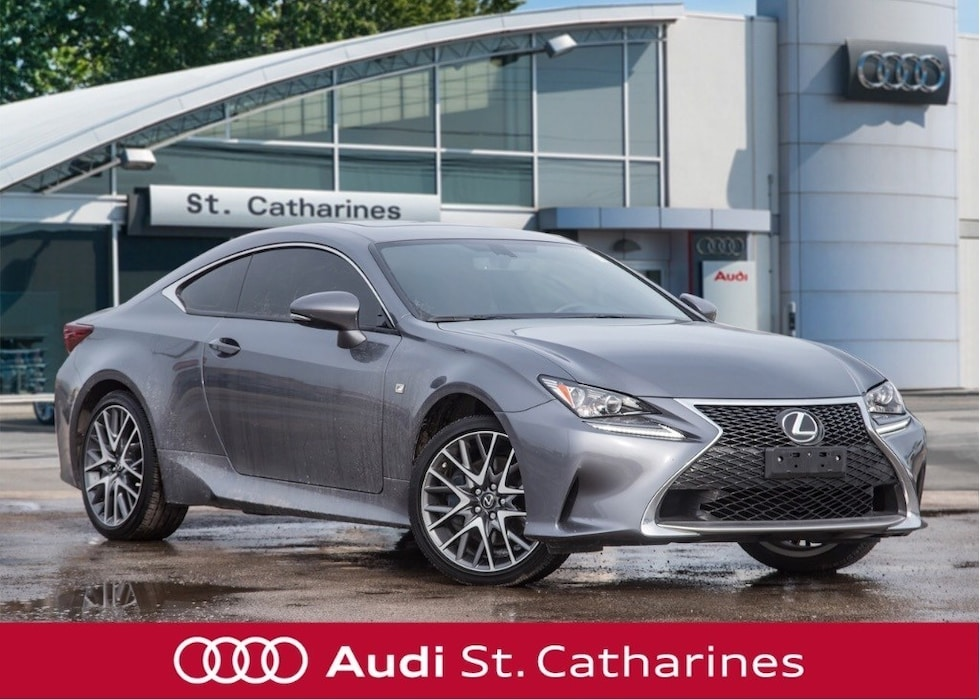 2017 LEXUS RC F-SPORT - 1 OWNER Coupe