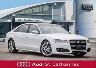 2018 Audi A8 TOP OF THE LINE! - ALL OPTIONS! DEMO SALE! Sedan