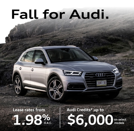Audi Credits up to 3500 on select models