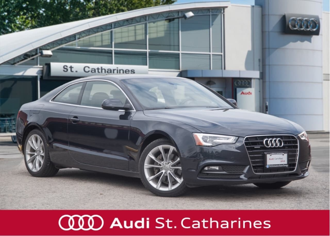 2014 Audi A5 1 OWNER -FULL SERVICE HISTORY Coupe
