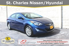 Certified Used 2016 Hyundai Elantra SE Sedan in Saint Peters MO