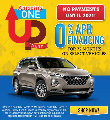 0% APR Financing for 72 months