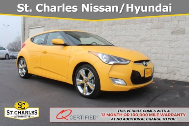 2016 Hyundai Veloster Base w/Yellow Accent Hatchback