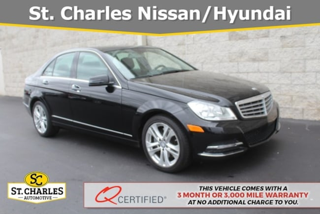 Used 2013 Mercedes Benz C Class For Sale At St Charles Hyundai Vin Wddgf8abxda784253