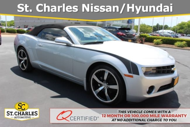 2011 Camaro For Sale >> Used 2011 Chevrolet Camaro For Sale At St Charles Hyundai Vin