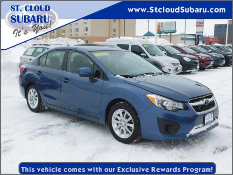 Used 2013 Subaru Impreza PREM NO MOON in St. Cloud, MN
