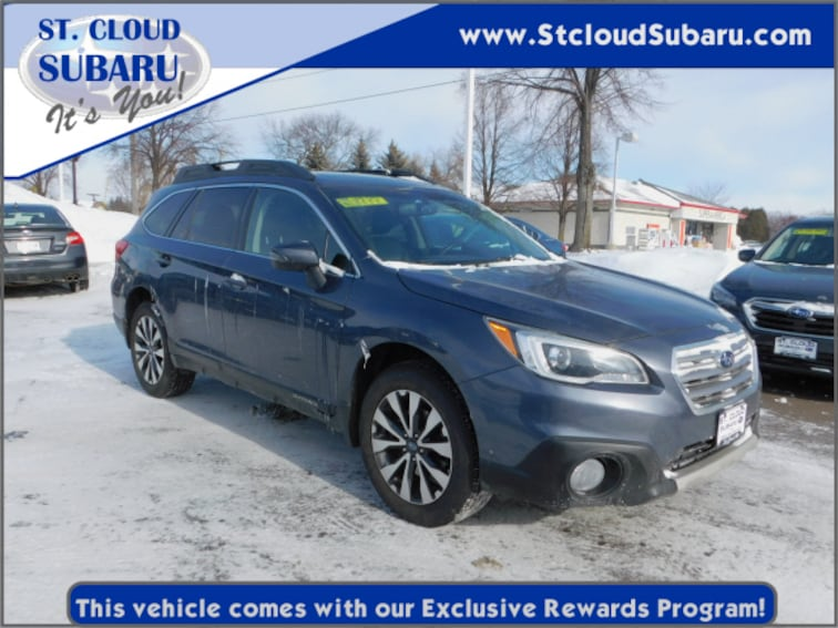 Used 2015 Subaru Outback LTD 22 PACK in St. Cloud, MN