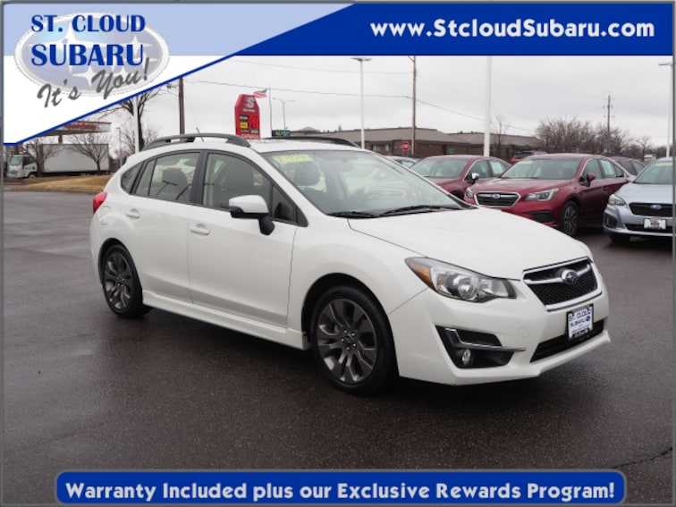 used 2016 Subaru Impreza SPORT PREM in st cloud MN