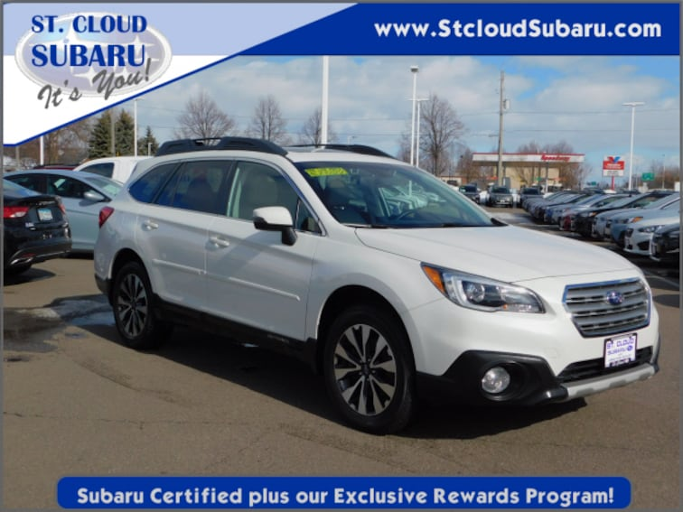 used 2016 Subaru Outback LTD 23 PACK in saint cloud MN