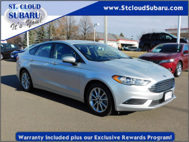 used 2017 Ford Fusion SEDAN in st cloud MN