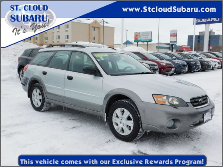 Used 2005 Subaru Outback WAGON in St. Cloud, MN