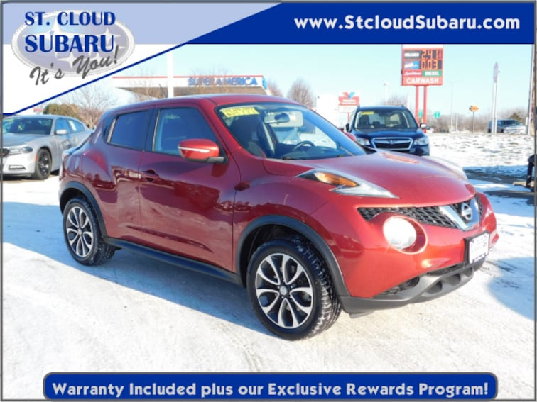 Used 2017 Nissan Juke For Sale Saint Cloud Mn Near Sauk Rapids