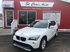 2012 BMW X1 28i AWD SUNROOF LEATHER low kms SUV