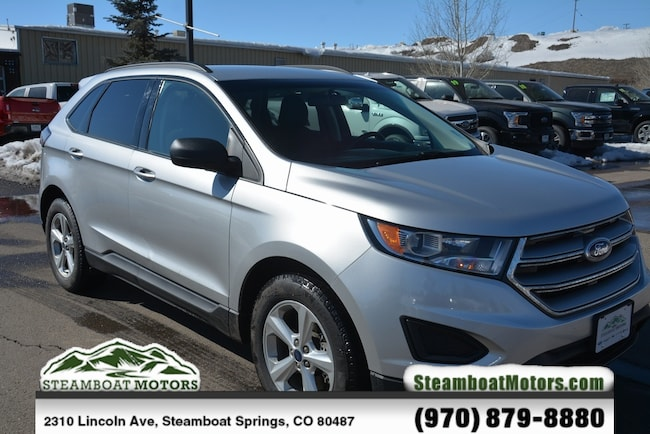 Used 2015 Ford Edge SE SUV For Sale Steamboat Springs CO