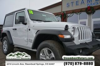 New 2018 Jeep Wrangler SPORT S 4X4 Sport Utility For Sale/Lease in Steamboat Springs, CO