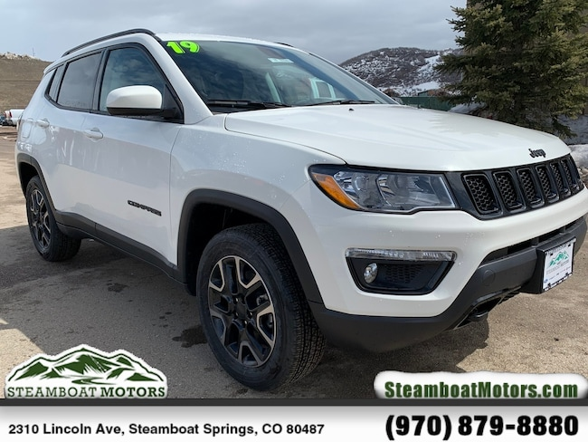 New 2019 Jeep Compass UPLAND 4X4 Sport Utility For Sale/Lease Steamboat Springs, CO