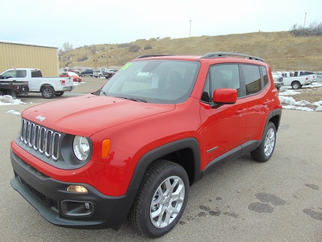 New 2018 Jeep Renegade LATITUDE 4X4 Sport Utility For Sale/Lease Steamboat Springs, CO