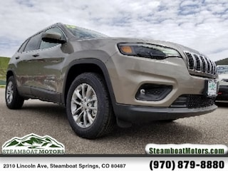New 2019 Jeep Cherokee LATITUDE PLUS 4X4 Sport Utility For Sale/Lease in Steamboat Springs, CO