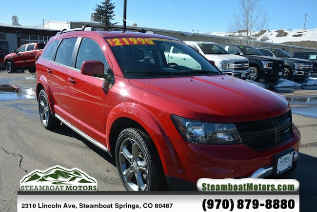 Used 2017 Dodge Journey Crossroad SUV For Sale Steamboat Springs CO