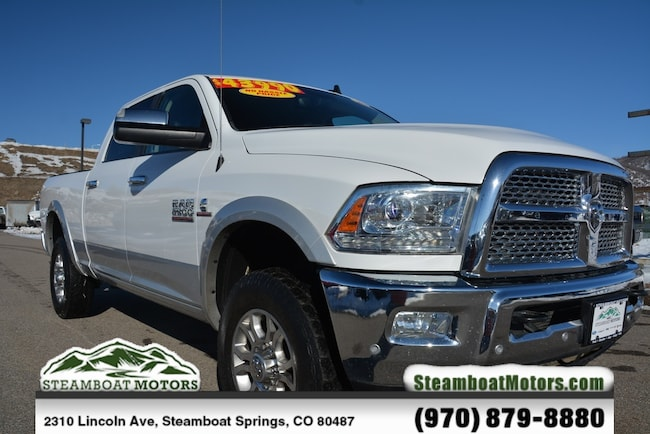 Used 2016 Ram 2500 Laramie Truck For Sale Steamboat Springs CO