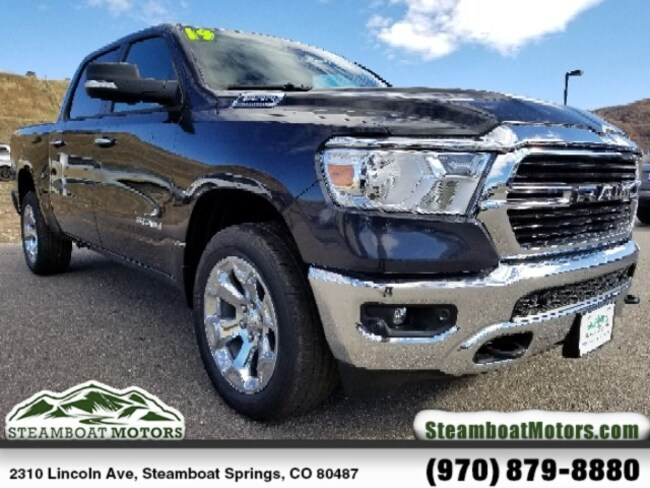 New 2019 Ram 1500 BIG HORN / LONE STAR CREW CAB 4X4 5'7 BOX Crew Cab For Sale/Lease Steamboat Springs, CO