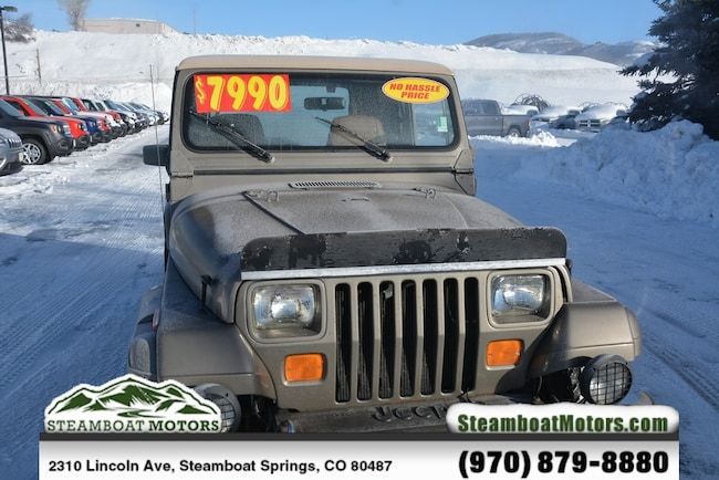 Used 1990 Jeep Wrangler Sahara SoftTop For Sale Steamboat Springs CO