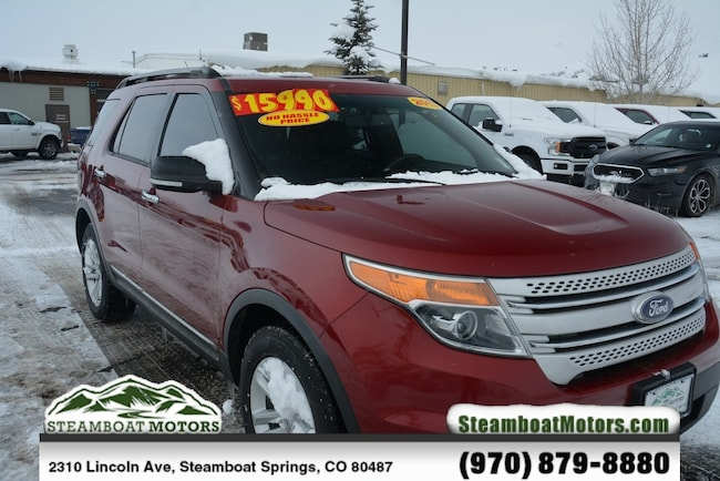 Used 2013 Ford Explorer XLT SUV For Sale Steamboat Springs CO