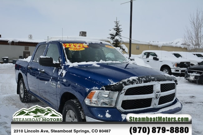 Used 2015 Ram 1500 Tradesman Truck For Sale Steamboat Springs CO