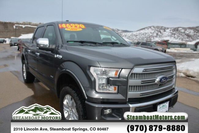 Used 2017 Ford F-150 Platinum Truck For Sale Steamboat Springs CO