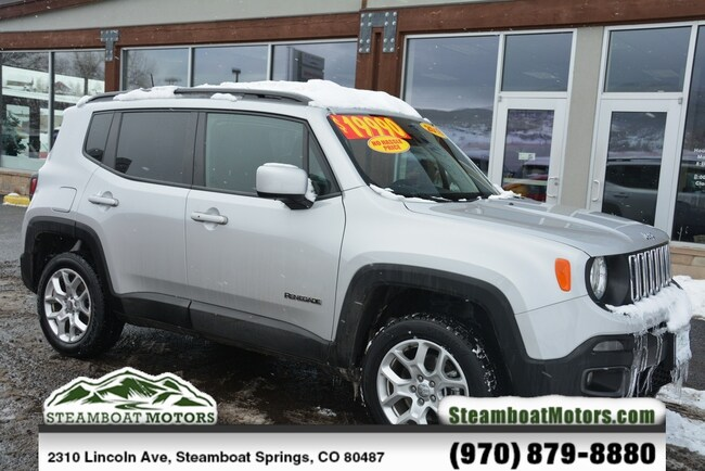 Used 2018 Jeep Renegade Latitude SUV For Sale Steamboat Springs CO
