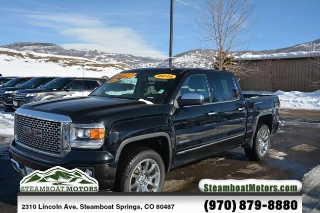 Used 2014 GMC Sierra 1500 Denali Truck For Sale Steamboat Springs CO