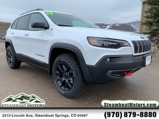 New 2019 Jeep Cherokee TRAILHAWK 4X4 Sport Utility For Sale/Lease in Steamboat Springs, CO