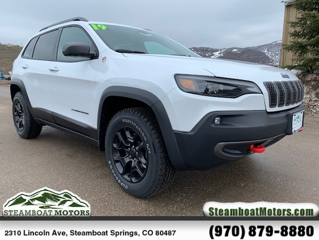 New 2019 Jeep Cherokee TRAILHAWK 4X4 Sport Utility For Sale/Lease Steamboat Springs, CO
