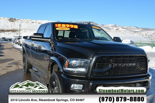 Used 2018 Ram 3500 Laramie Truck For Sale Steamboat Springs CO
