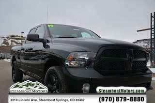 New 2019 Ram 1500 Classic TRADESMAN QUAD CAB 4X4 Quad Cab For Sale/Lease in Steamboat Springs, CO